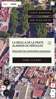 La Peste - Portfolio - Interactive Map Stop