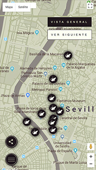 La Peste - Portfolio - Interactive Map Mobile